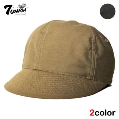 セブンユニオン 7UNION ポストマンキャップ ストラップバック 帽子 メンズ レディース bk bn