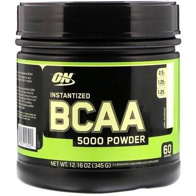 インスタンタイズドBCAA 5000パウダー、味なし、345 g
