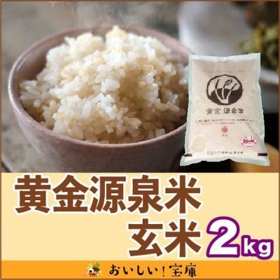 令和2年産 黄金源泉米 玄米2kg