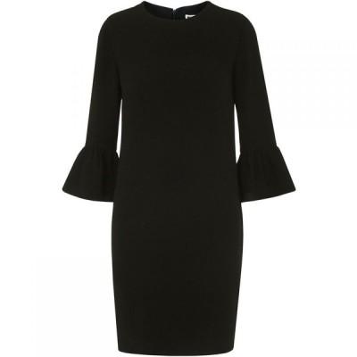 ホイッスルズ Whistles レディース ワンピース ワンピース・ドレス Raven Fluted Sleeve Dress Black