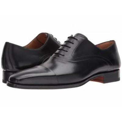 Magnanni マグナーニ メンズ 男性用 シューズ 靴 オックスフォード 紳士靴 通勤靴 Saffron Black【送料無料】