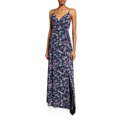 ワイフ レディース ワンピース トップス The Angelina Sleeveless Wrap Gown