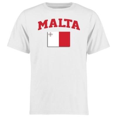 ファナティクス ブランデッド メンズ Tシャツ トップス Malta Flag T-Shirt