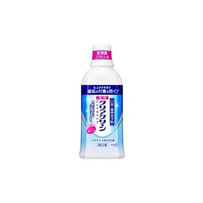 花王 クリアクリーン デンタルリンス ソフトミント (600mL) ノンアルコール 洗口液 【医薬部外品】