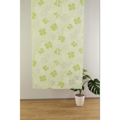 narumikk のれん グリーン サイズ/幅85×長さ150cm 10-300
