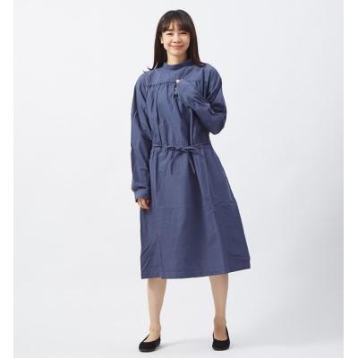 【コレックス/collex】 【yarmo】 バックオープンスモックドレス