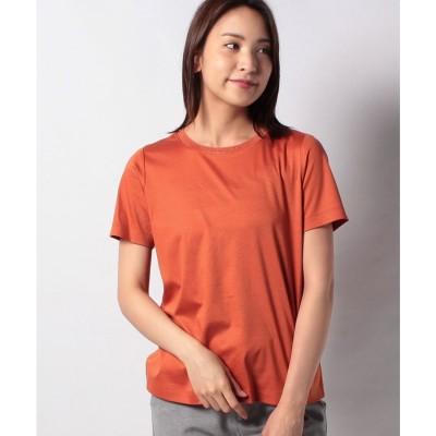 レリアンプラスハウス ビジューネックTシャツ(オレンジ系)【返品不可商品】