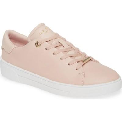 テッドベーカー TED BAKER LONDON レディース スニーカー ローカット シューズ・靴 Indre Low Top Sneaker Nude Pink Leather