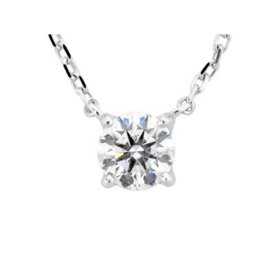 ヨンドシー 4℃ ダイヤモンド 0.313ct(G/SI2/EX) ネックレス 45cm ペンダント【中古】
