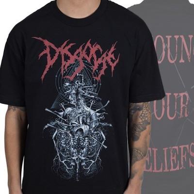 ディスゴージ Disgorge メンズ トップス Tシャツ Renounce Black