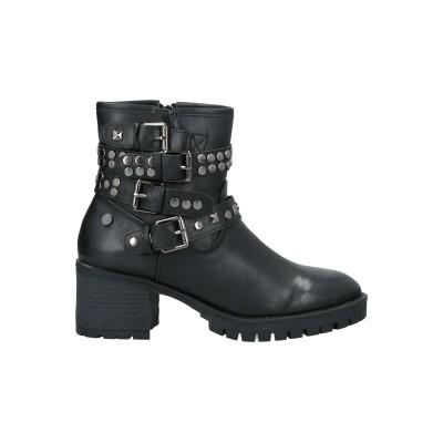 XTI ショートブーツ ブラック 36 紡績繊維 ショートブーツ
