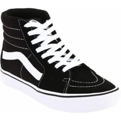 バンズ レディース スニーカー シューズ Vans ComfyCush SK8-Hi Sneaker Classic True White/True White Canvas