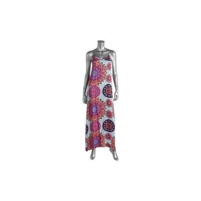 ドレス 女性  ミンクピンク Minkピンク 4911 レディース プリントed Racerback カジュアル Maxi ドレス