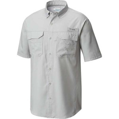 コロンビア メンズ シャツ トップス Columbia Men's Blood And Guts III SS Woven Shirt Cool Grey
