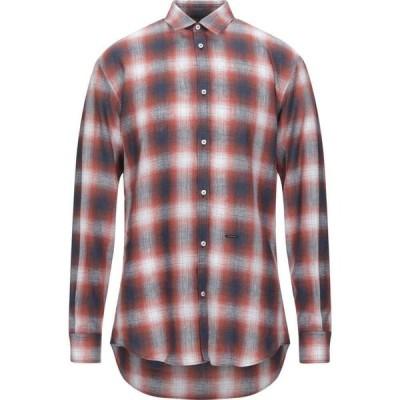 ディースクエアード DSQUARED2 メンズ シャツ トップス Checked Shirt Rust