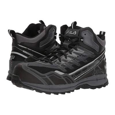フィラ Hail Storm 3 Mid Composite Toe Trail メンズ スニーカー 靴 シューズ Castlerock/Black/Metallic Silver
