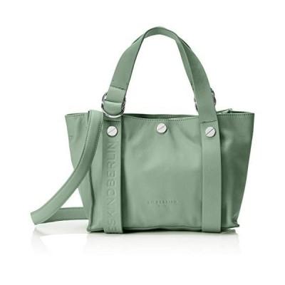 Liebeskind Berlin Women's Ring Shopper Shoulder Bags, Green (Hedge Green), 22x17x37 Centimeters (B x H x T) Medium 並行輸入品