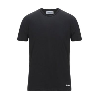 ビッケンバーグ BIKKEMBERGS T シャツ ブラック XS コットン 96% / ポリウレタン 4% T シャツ