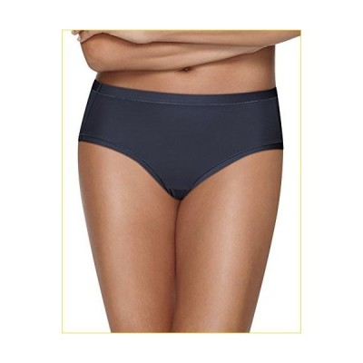 Hanes 617914141288 Ultimate Cool Comfort Low Rise Brief44; White44; Mountain Heather & Violet Navy - Size 8 - Pack of 4
