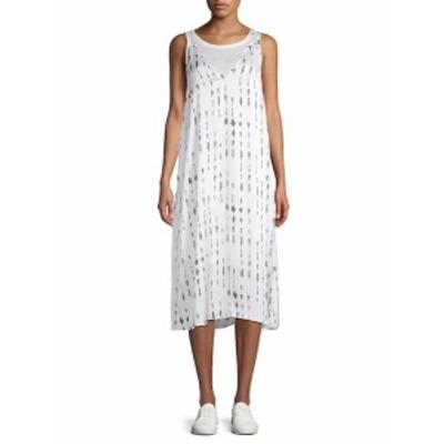 ケネスコール レディース ワンピース Printed Tank Dress