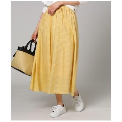 【洗える】ローンストライプスカート
