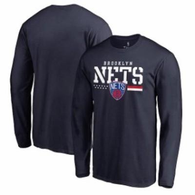 Fanatics Branded ファナティクス ブランド スポーツ用品  Fanatics Branded Brooklyn Nets Navy Hoops For Troops Lon