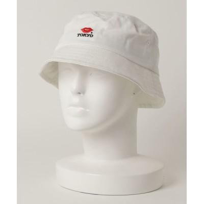 MAISON mou / 【KISS TOKYO/キストーキョー】LIP LOGO BUCKET HAT/ハット WOMEN 帽子 > ハット