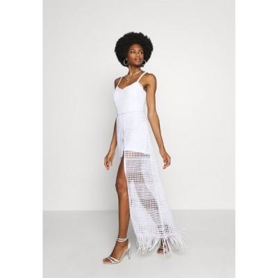 ゲス ワンピース レディース トップス EMELY DRESS - Maxi dress - blanc pur