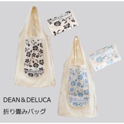 DEAN&DELUCA 折り畳み サイドロゴ ショッピングバッグ エコ ディーンアンドデルーカ  メール便送料無料