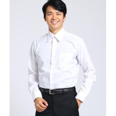 (TAKEO KIKUCHI/タケオキクチ)100/2ブロードシャツ/メンズ ホワイト(001)
