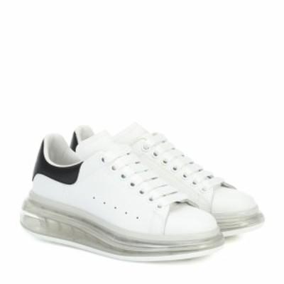 アレキサンダー マックイーン Alexander McQueen レディース スニーカー シューズ・靴 Leather sneakers White/Black/White