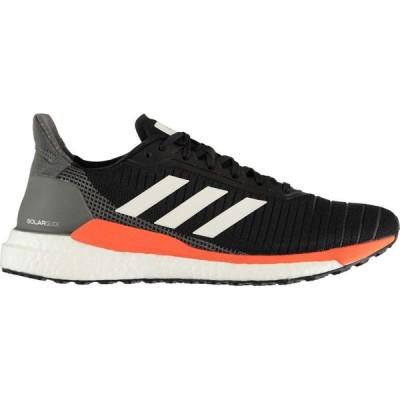 アディダス adidas メンズ ランニング・ウォーキング シューズ・靴 Solar Glide Running Shoes Black/Wht/Oran