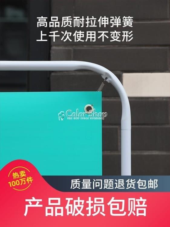 門型展架80X180廣告牌展示牌易拉寶海報訂製製作X展架立式落地式 交換禮物 YYP
