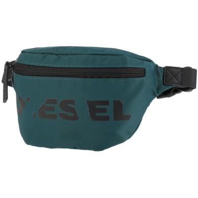 ディーゼル DIESEL バックパック&ヒップバッグ ディープジェード 紡績繊維 バックパック&ヒップバッグ