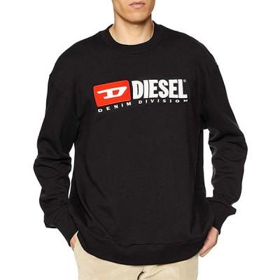 ディーゼル DIESEL メンズ トレーナー スウェット ロゴ 刺繍 カジュアル ファッション トップス