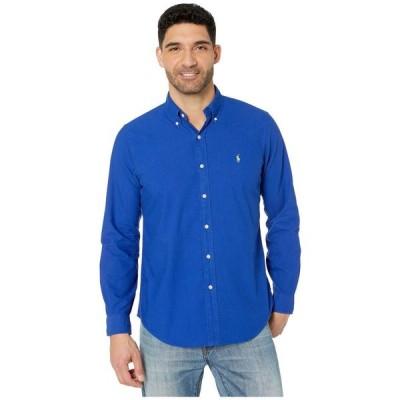 ラルフ ローレン Polo Ralph Lauren メンズ シャツ ワイシャツ トップス Classic Fit Long Sleeve Oxford Shirt Heritage Royal