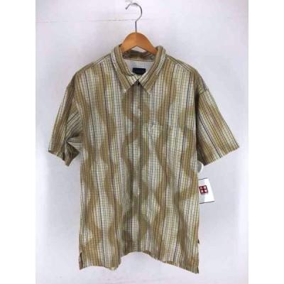 パタゴニア patagonia チェック ジップアップシャツ メンズ L 中古 201226