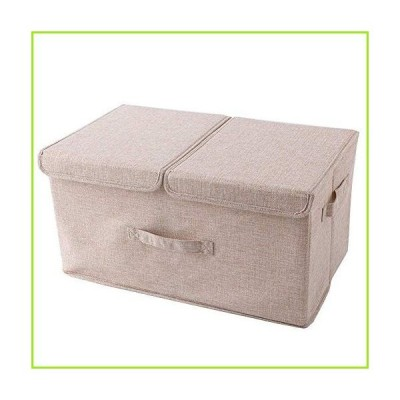 Laundry Basket Storage Boxes Ramie Cotton Fabric Storage Container Storage Clothes Blanket For Clothes/Books/Toys/DVDs Washing Laundry Organ