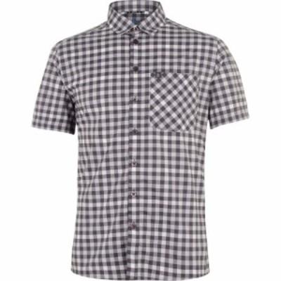 オドロ Odlo メンズ シャツ トップス Nikko Shirt Silver Grey