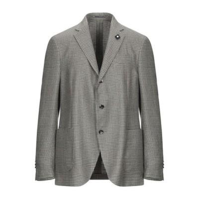 LARDINI テーラードジャケット  メンズファッション  ジャケット  テーラード、ブレザー ミリタリーグリーン