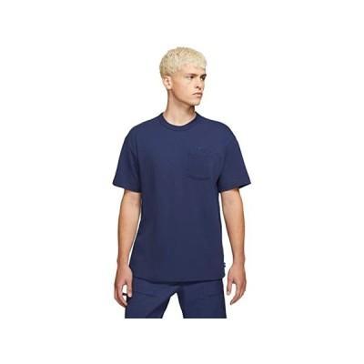 【ポイント最大24倍!!】(取寄)ナイキ メンズ NSW プレミアム エッセンシャル ポケット ティー Nike Men's NSW Premium Essential Pocket Tee Midnight Navy