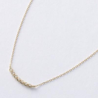 ARCOIRIS/アルコアイリス K10 ダイヤ Uライン ペンダント WG(WEB)