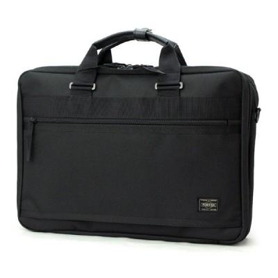 【選べるノベルティ付】 吉田カバン ポーター 2WAYビジネスバッグ/2層式 メンズ クリップ 550-08959 PORTER