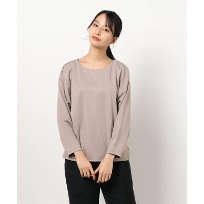 tシャツ Tシャツ エムエフエディトリアルレディース/m.f.editorial:Women ストレッチスムース セットアップ 2WAY長袖ドルマン(