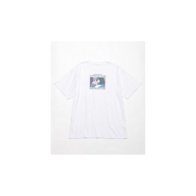 レイカズン Ray Cassin CMP 女の子フォトビックTシャツ (オフ白)