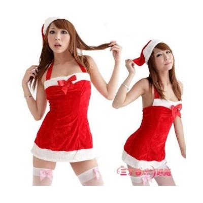 サンタ コスプレ サンタクロース コスチューム セクシー衣装 クリスマス 帽子付き セクシータイトミニ SD009
