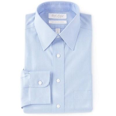 ラウンドトゥリーアンドヨーク メンズ シャツ トップス Gold Label Roundtree & Yorke Non-Iron Classic-Fit Point Collar Textured Solid Dress Shirt