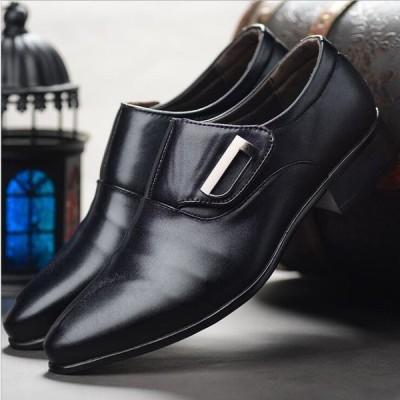 スリッポン 紳士靴 ビジネスシューズ 革靴 新生活 入学式 卒業式 面接 就活 メンズ メンズシューズ 靴 軽量 ファション フォーマル 父の日 結婚式