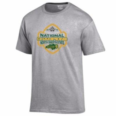 Gear For Sports ギア フォー スポーツ スポーツ用品  NDSU Bison Gray 2018 NCAA FCS National Champions Locker Room T-Shirt