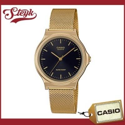 CASIO MQ-24MG-1E カシオ 腕時計 アナログ スタンダード メンズ ブラック ゴールド カジュアル